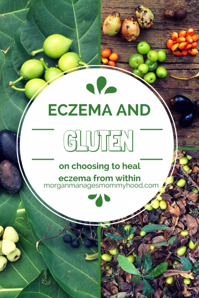 A post on choosing to give a gluten-free diet a try in order to heal lifelong eczema naturally.