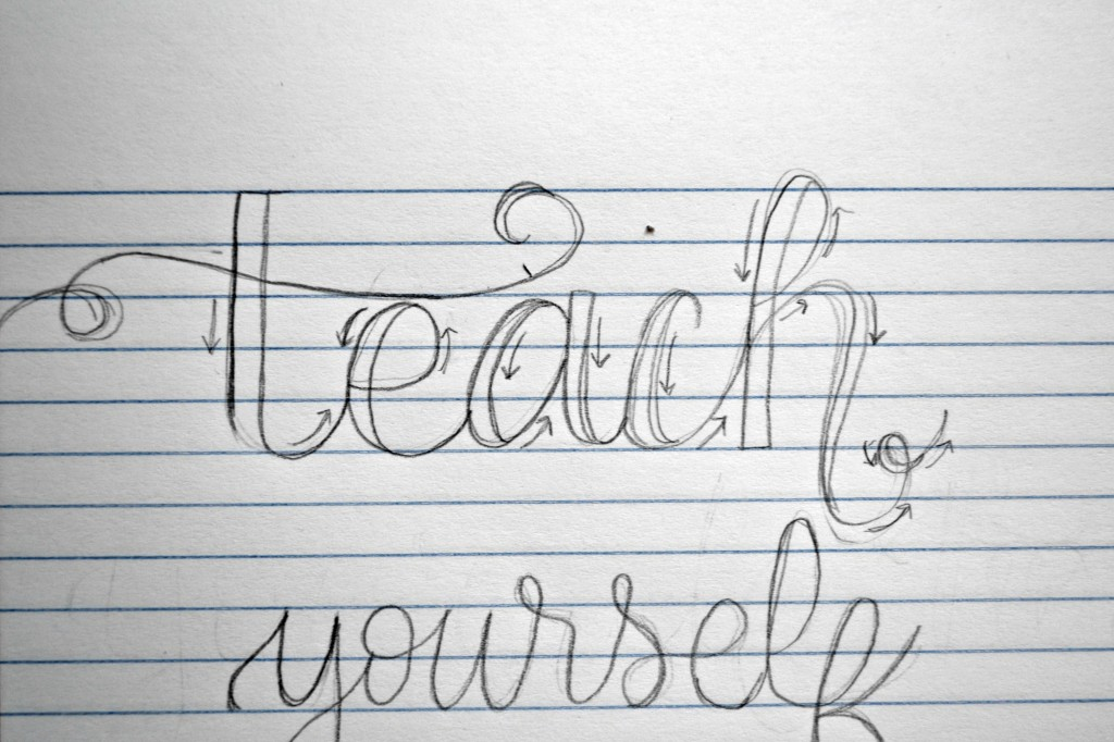 how to hand letter teach yourself how to letter manages mommyhood 22312 | hand lettering step 3 1024x682