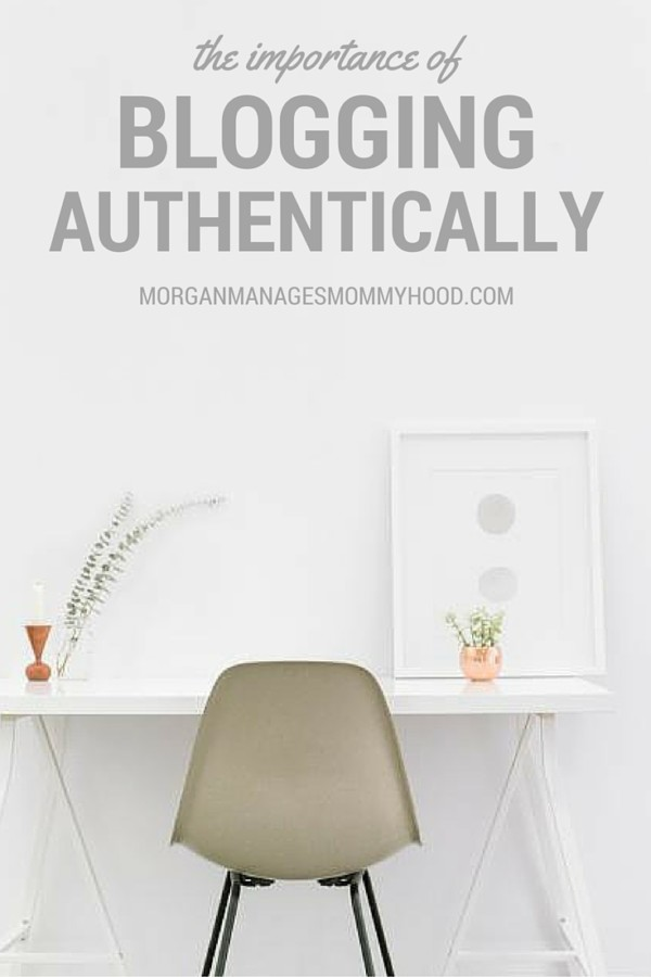 Blogging authentically is the number one thing you can do to benefit your blog. Read more to see how since I've implemented this tactic, I've doubled my page views.