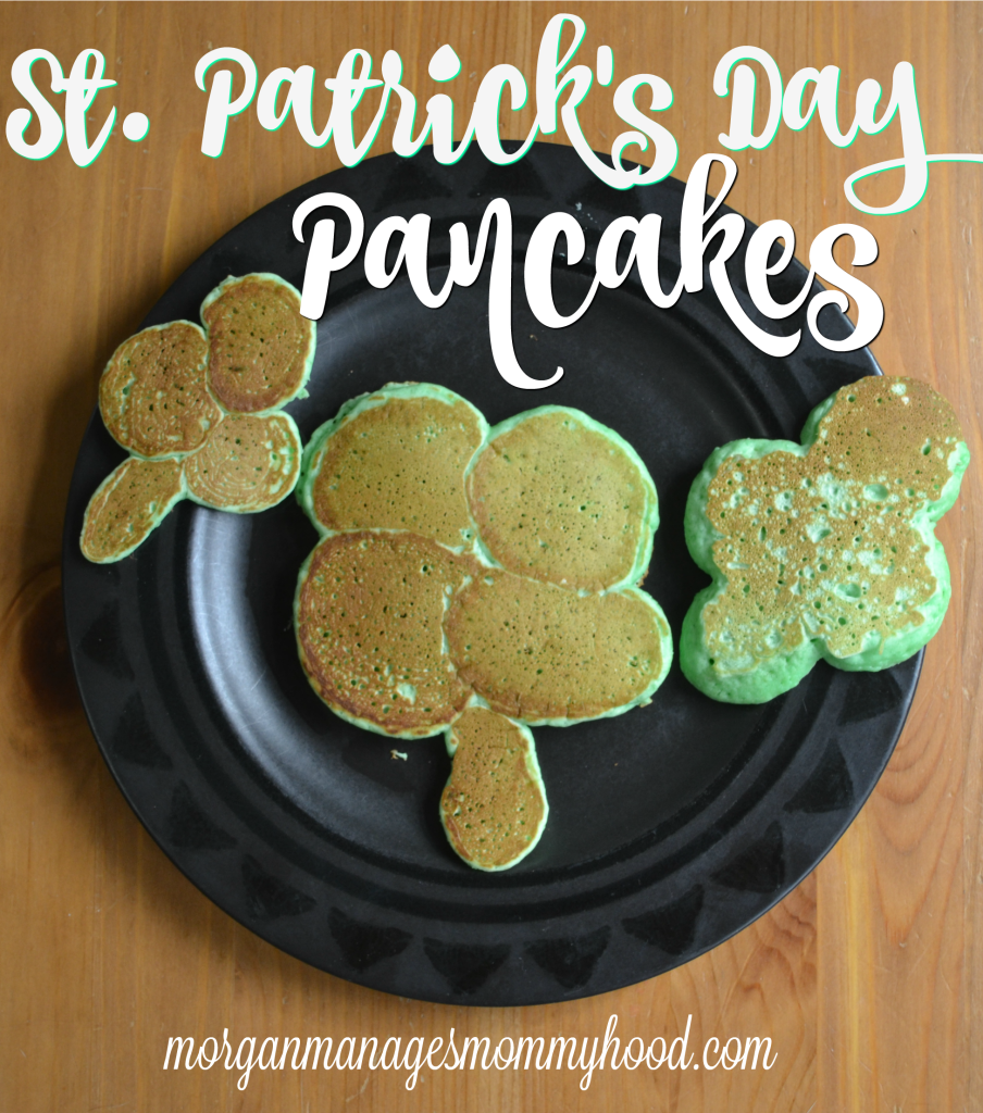 St. Patrick's Day pancakes are fun for everyone! Check out this post to learn how to make simple and festive pancakes, ranging from simple green shamrocks to fun pots of gold!