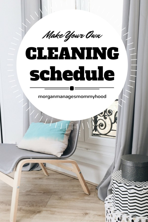 Creating your own, custom cleaning schedule for your home can seem overwhelming. But it doesn't have to be! Use this step-by-step guide to learn how to create a custom home cleaning schedule for daily, weekly, and monthly tasks!