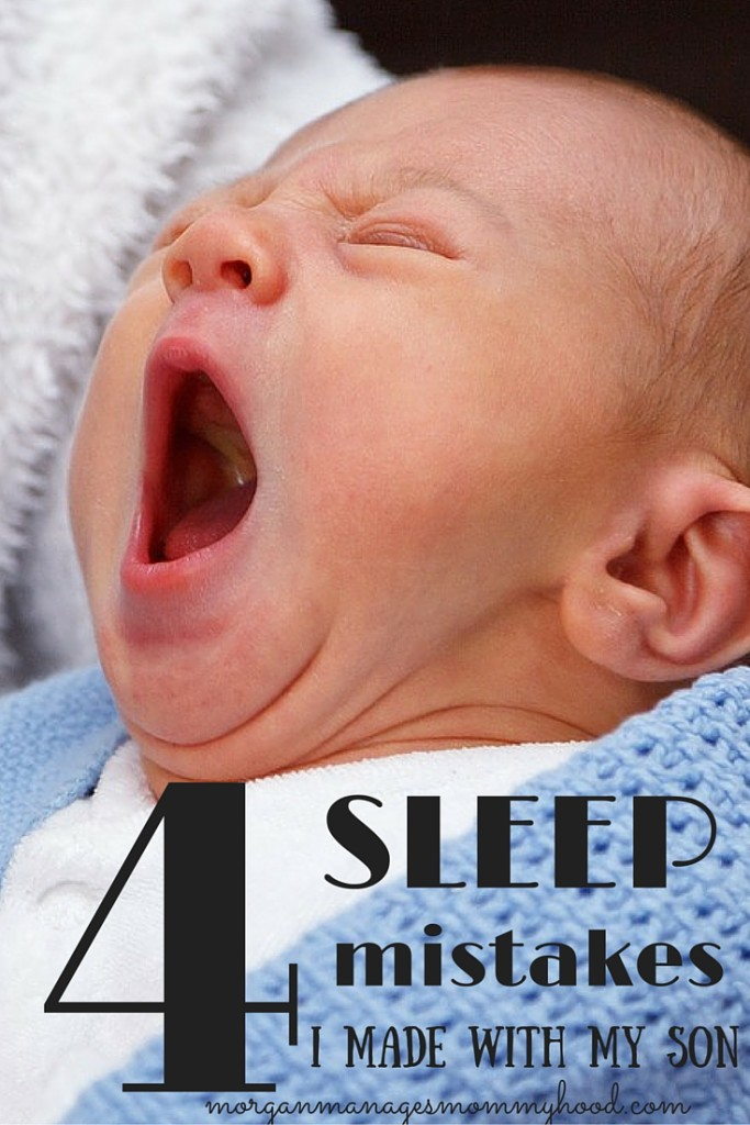 Sleep is what all new parents seek. My son was the worst sleeper I'd ever hear of. With number 2 on the way, I'm taking note of all the sleep mistakes I made, so that I hopefully won't repeat them!