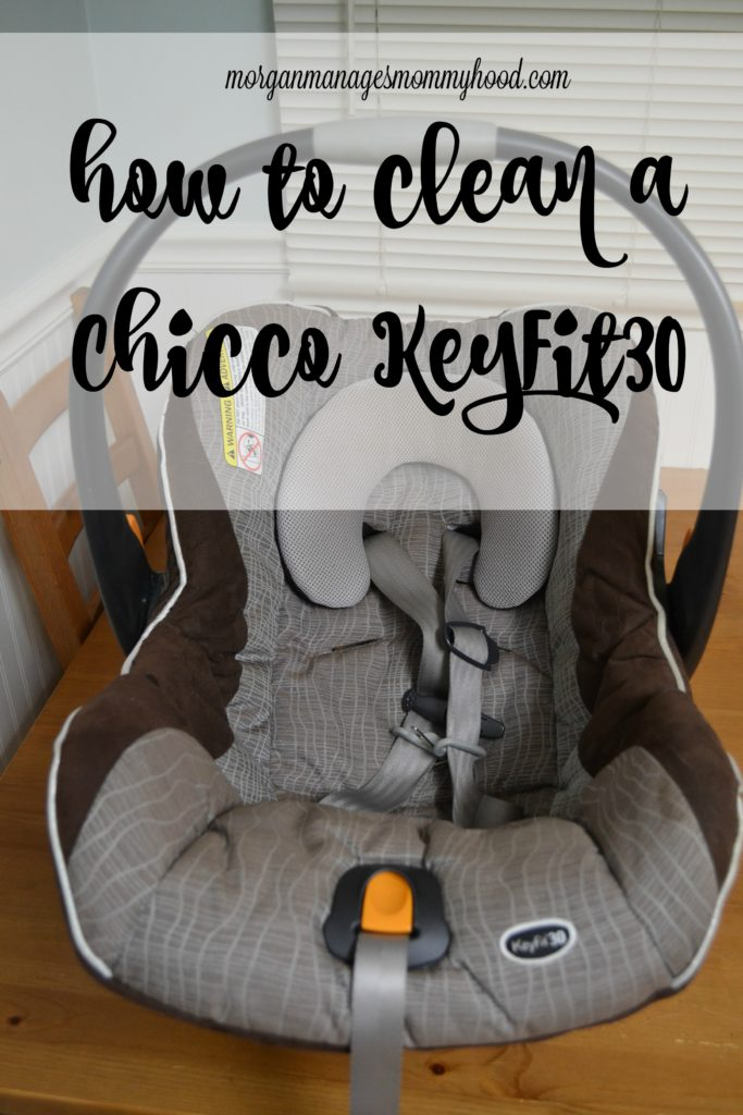 Looking to clean a Chicco KeyFit30? Look no further than this step-by-step photo tutorial!