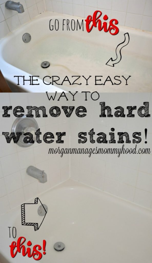 You don't need to scrub for days in order to remove hard water stains. Just one tool! And to remove soap scum? Just one minute!