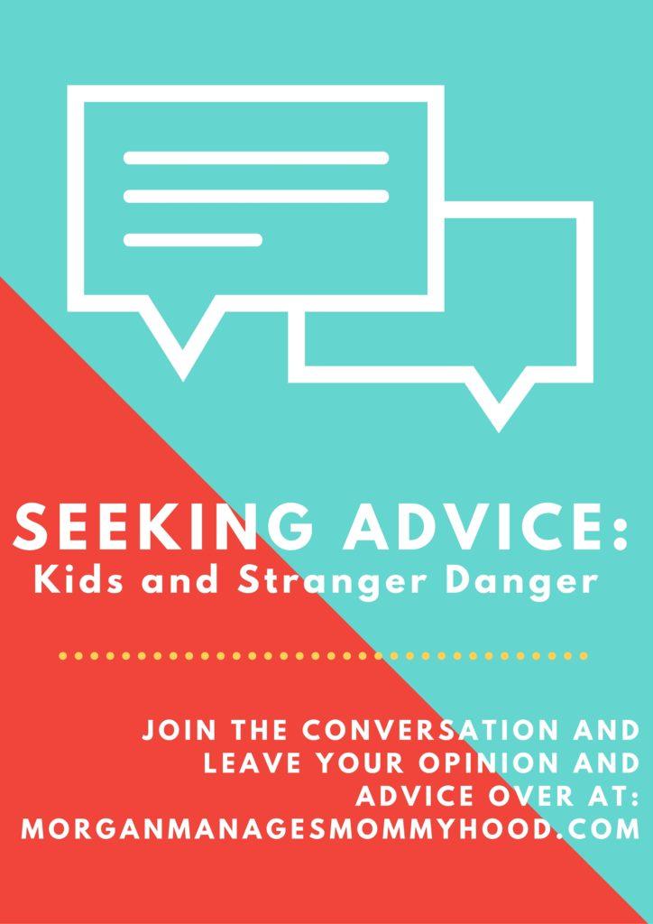 SEEKING ADVICE-