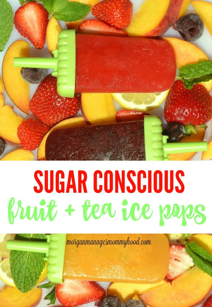 Looking for a good way to cool off this summer? You need to check out these sugar conscious fruit and tea ice pops where you can monitor just how much you'll be consuming. With Rooibos, green, and black tea options, these ice pops are perfect for summer. Click through to see how they're made and some of the fun combination options!