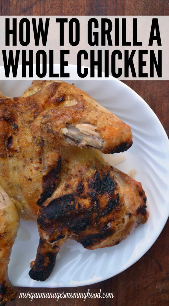Craving a whole roasted chicken but refuse to heat up your entire house doing it? Keep reading to learn how to grill a whole chicken!