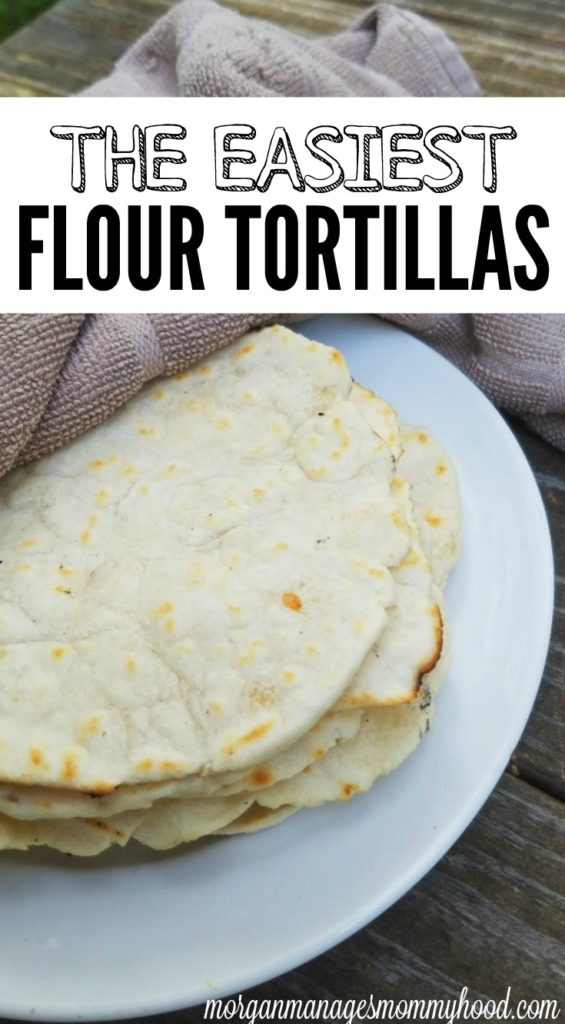Tortillas are the perfect vessel for your summer tacos - keep reading to learn how to make the easiest flour tortillas ever!