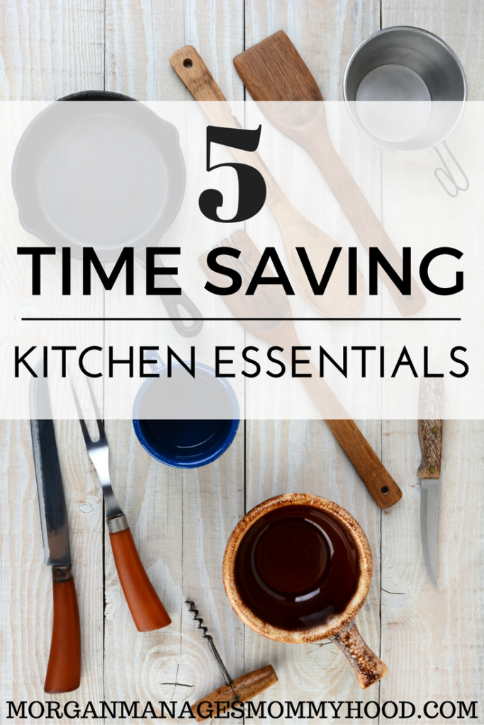 Looking to free up some time in the kitchen? Check out these 6 Time Saving Kitchen Essentials to streamline simple kitchen tasks!