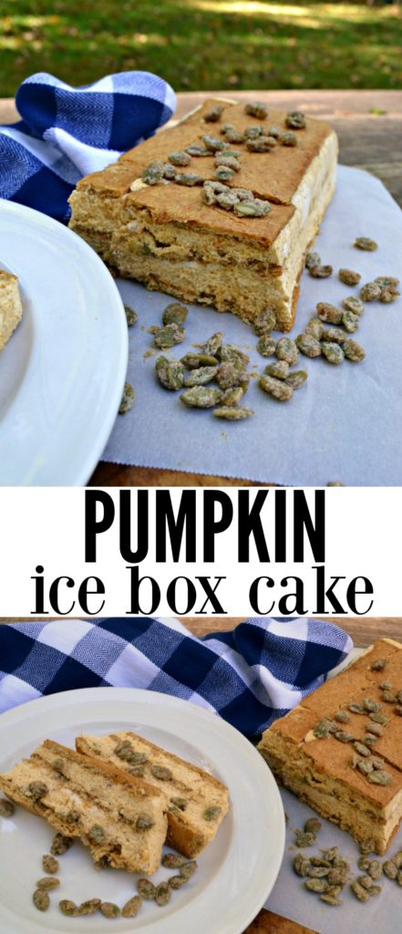 If you're in need of a simple Thanksgiving dessert, this Pumpkin Ice Box Cake is the pick for you! With little hands-on time and full of  flavor, this dessert will be a hit on your dessert table.