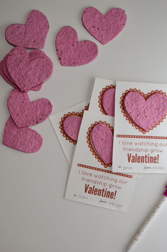DIY Seed Paper Valentines Morgan Manages Mommyhood