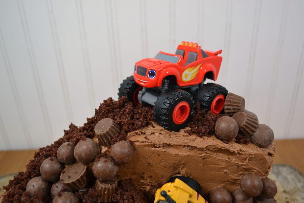 Diy Monster Truck Cake Blaze And The Monster Machines