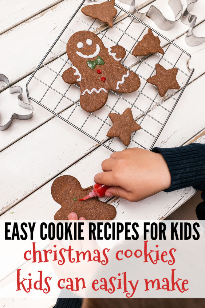 Looking to do some baking with your kids using some easy cookie recipes for kids this Christmas? These Christmas cookie recipes for kids are the perfect place to start! #christmasbaking #christmascookies #bakingwithkids #kidsrecipes #kidsinthekitchen #cookingwithkids