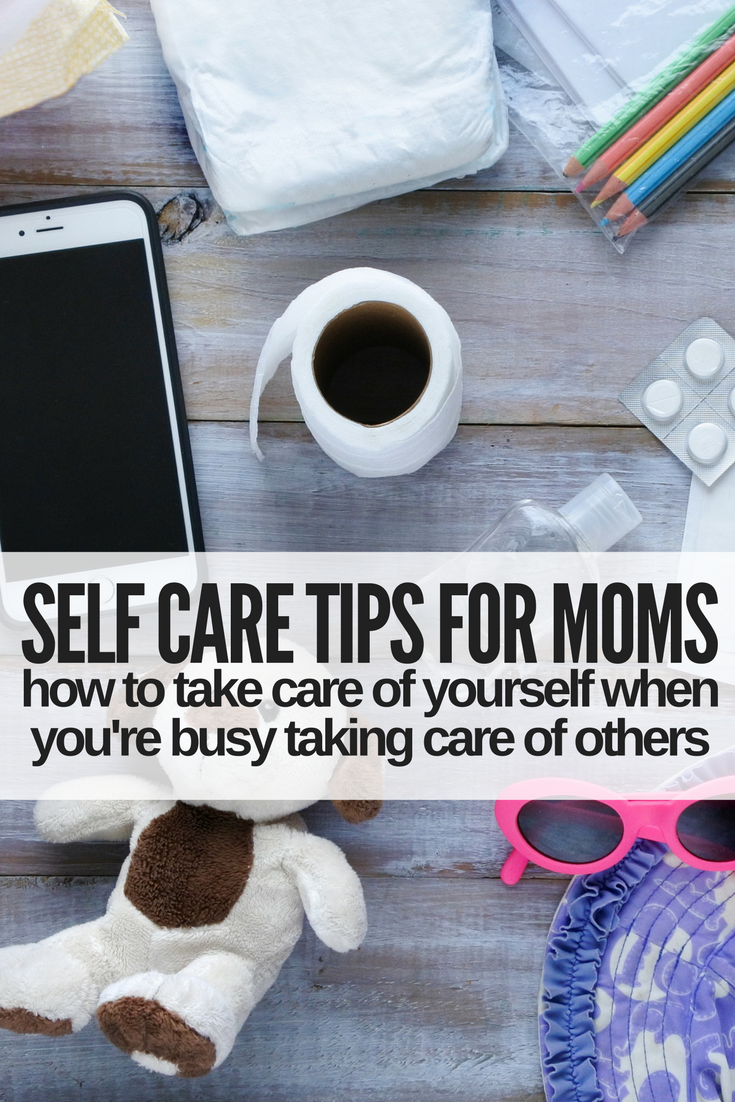 Feeling overwhelmed as a mom, but also feel like you have no time to take care of yourself? These simple self care tips for moms will change how you see self care! [ad] #selfcare #momlife #parentingtips