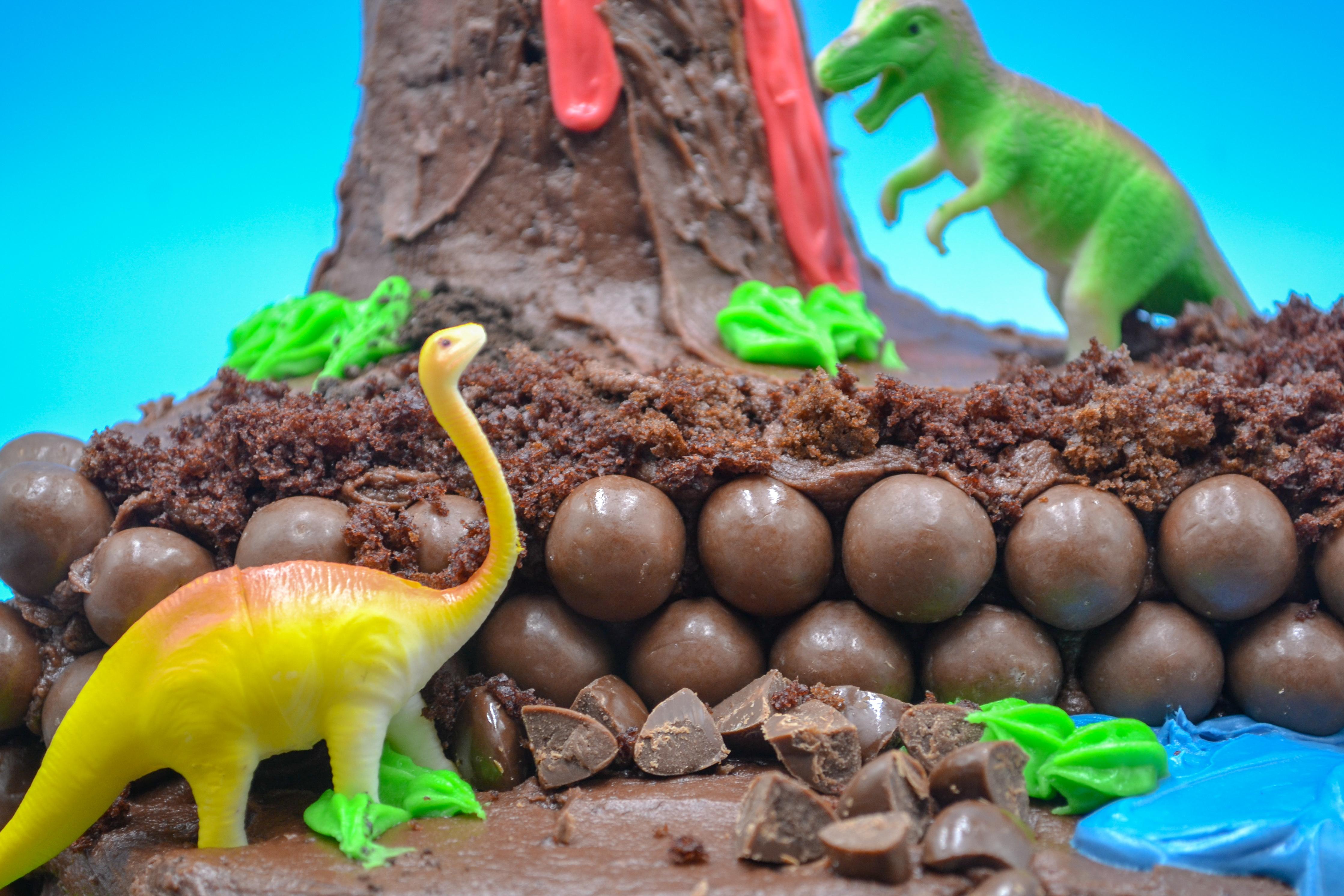Homemade Dinosaur Birthday Cake Morgan Manages Mommyhood